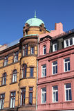 Malmo. Sweden - colorful old architecture. City in Scania county (Skane in Swedish) and Oresund region Stock Images