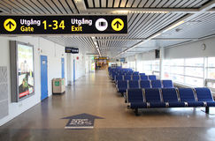 Malmo airport Royalty Free Stock Photo