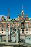 Malmo. The beautiful Town Hall in Malmo, Sewden Royalty Free Stock Photo