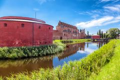 Malmo Castle or Malmohus slott in Malmo, Southern Sweden, Scandi Stock Photography