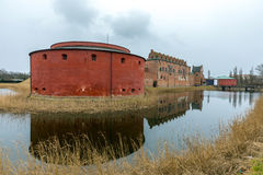 Malmo Castle. In Southern Sweden Stock Image