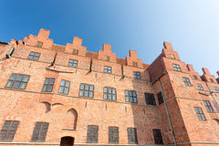 Malmo castle, Sweden. Sunny day Royalty Free Stock Photography