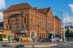 Malmo Central Railway Station. MALMO, SWEDEN - AUGUST 11, 2014: Malmo Central Railway Station, on August 11, 2104 in Malmo, Sweden. The station serves around 17 Royalty Free Stock Photography