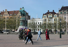 Malmo. Central Square. Stock Images