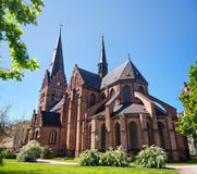 Malmo church 02. An image of the medieval church of saint Peter in the swedish city of Malmo Stock Photos