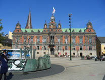 Malmo City Hall at the Stortorget, Historic Market Square of Malmo. Sweden Royalty Free Stock Image