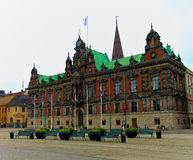 Malmo City Hall. On Stortorget Square, Malmo, Sweden Stock Photos
