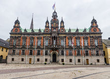 Malmo City Hall. In Sweden, Europe in autumn Royalty Free Stock Image