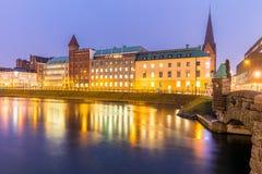 Malmo Cityscape Sweden Stock Photography