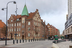 Malmo Cityscape. At Triangeln Station Royalty Free Stock Photo