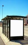 malmo för 02 buss stopp Arkivfoto