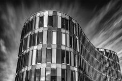 Malmo Glasvasen in bianco e nero fotografie stock