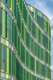 Malmo Glasvasen modern arkitektur Arkivfoto