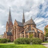 Malmo Heilige Petris Kerk Stock Afbeeldingen