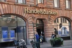 SWEDISH HANDELSBANKEN. Malmo/Malmoe/MalM�/Sweden 04 September 2018_ .Swedish Handelsbanken in Malm� Sweden. Photo.Francis Joseph Dean / Deanpictures Stock Photos