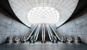 Malmo Metro Station. Taken in 2017 taken in HDR Royalty Free Stock Image