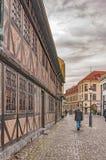 Malmo Old Town Street Stock Photo