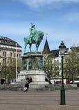 Malmo, quadrato di Stortorget Fotografia Stock