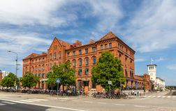 Malmo railway station in Sweden. Building of Malmo railway station - Sweden Royalty Free Stock Images