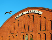 Malmo railway station, Sweden Stock Images