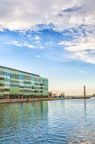 Malmo Riverside. A business centre on the waterfront of the Swedish city of Malmo Royalty Free Stock Photo