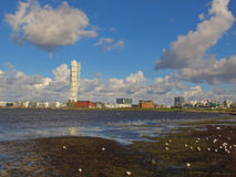 Malmo sea view, Sweden Stock Photography