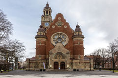 Malmo St Johannes Church. In Sweden Royalty Free Stock Photo