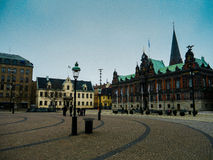 Malmo Stadhuis Royalty-vrije Stock Foto's