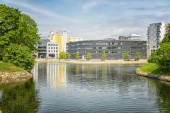 Malmo stadsdomstolsbyggnad Fotografering för Bildbyråer