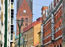 Malmo!, Suecia Imágenes de archivo libres de regalías