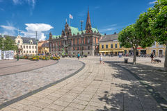 Malmo on a sunny summer day in Sweden Stock Photos