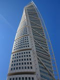 Malmo, Sweden city with famous Turning Torso. Royalty Free Stock Image