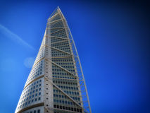 Malmo, Sweden city with famous Turning Torso. Stock Images