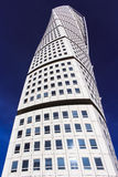MALMO, SWEDEN - OCTOBER 2: Turning Torso facade on October 2 , 2015 in Malmo, Sweden. Stock Photos