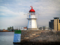 MALMO, SWEDEN old lighthouse on August 7, 2013 Stock Images