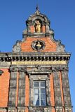 Malmo, Sweden. The Town Hall. City in Scania county (Skane in Swedish) and Oresund region Royalty Free Stock Photography