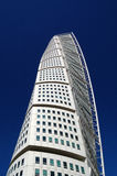 Malmo, sweden , turning torso building. Pic of a Malmo, sweden , turning torso building, april, 2013 Royalty Free Stock Images
