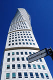 Malmo, sweden , turning torso building. Pic of a Malmo, sweden , turning torso building, april, 2013 Royalty Free Stock Photo