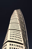 Malmo, sweden , turning torso building. Pic of a Malmo, sweden , turning torso building, april, 2013 Stock Photography