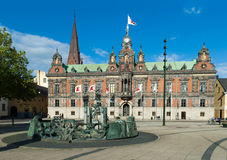 Malmo Town Hall. The beautiful Town Hall in Malmo, Sewden Stock Photos