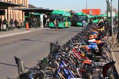 Malmo transportation Stock Image