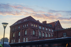 The Malmo transportation station. The beautiful and historical Malmo transportation station Stock Photos