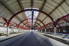 The Malmo transportation station Stock Images