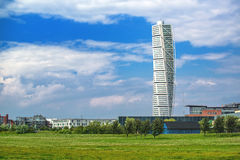 Malmo Turning Torso Stock Photography