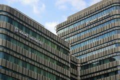 Malmo uniwersyteta budynki obraz royalty free