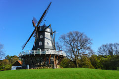 Malmo Windmill. Windmill in the park in Malmo, Sweden Royalty Free Stock Photography