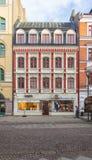 Malmo winkels Stock Afbeeldingen