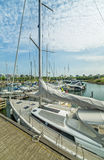 Malmo yacht marina Royalty Free Stock Photography