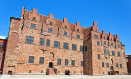 Malmohus castle 02. The historic castle of malmohus situated in the swedish city of Malmo Stock Photos