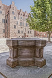 Malmohus Castle Courtyard Stock Images